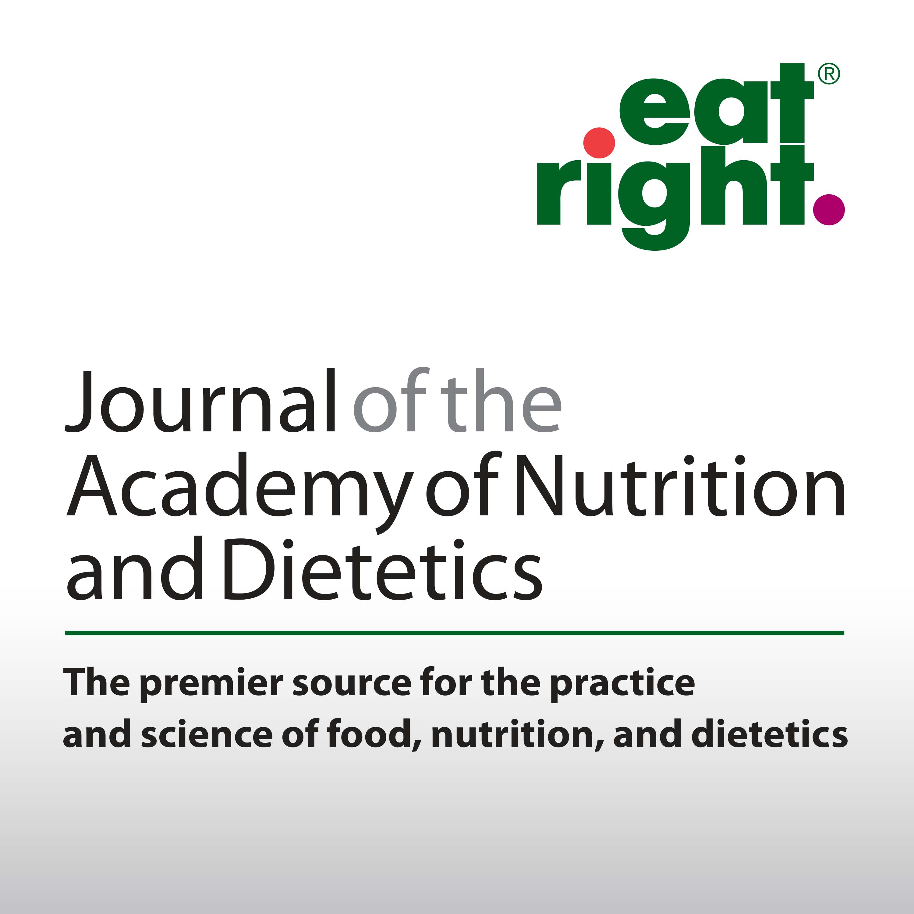 Pod Fanatic Podcast Journal Of The Academy Of Nutrition And